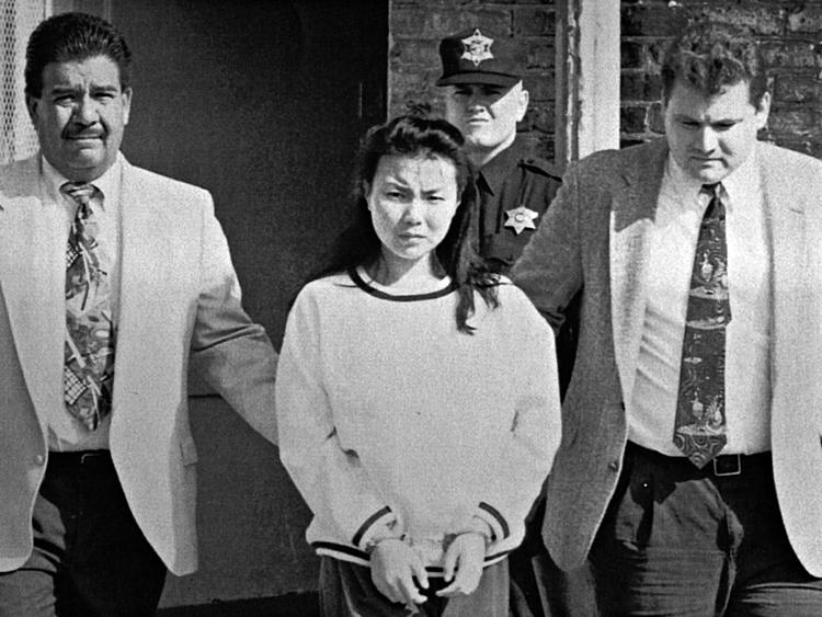 Catherine khi bị bắt. Ảnh: Chicago Tribune.