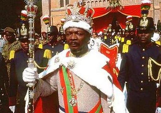 Bokassa từng đảo chính để được làm tổng thống Trung Phi, sau đó tự xưng là hoàng đế. Ảnh: sohu.