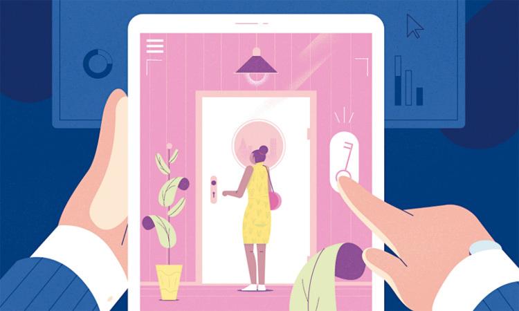 Các thiết bị kết nối internet trong nhà cũng là một nguyên nhân làm tăng bạo lực gia đình. Ảnh: Telegraph/MICHAŁ BEDNARSKI