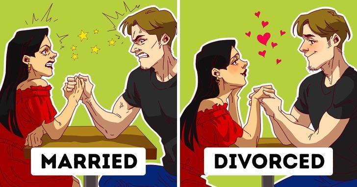 7 lý do ly dị tốt hơn cuộc hôn nhân tồi tệ