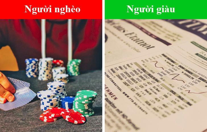 10 thói quen khác biệt giữa người giàu với người nghèo - 1