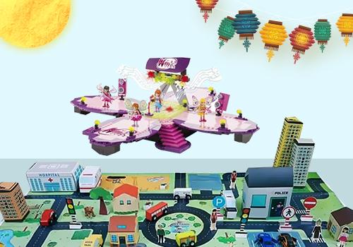 Shop VnExpress có hơn 200 sản phẩm đồ chơi lego