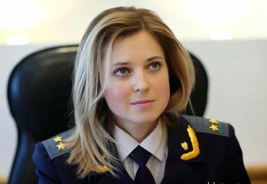 Natalia Poklonskaya. Ảnh:sputniknews.