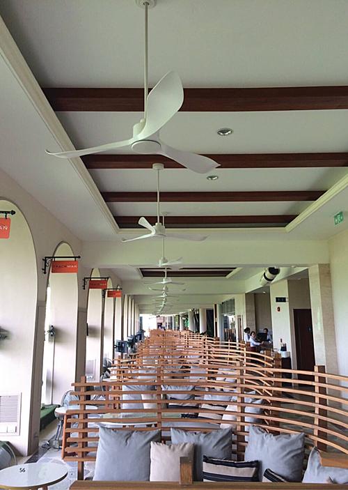 Một số dự án lắp quạt cho nhà hàng mà Royal Home cung cấp.