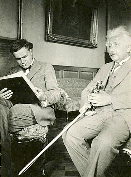 Con trai tai nang bi lang quen cua Albert Einstein