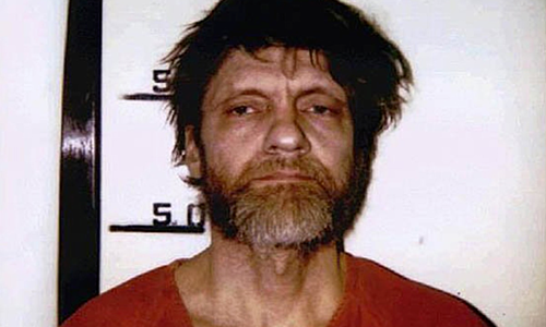 Ted Kaczynski khi bị bắt năm 1996. Ảnh: History.