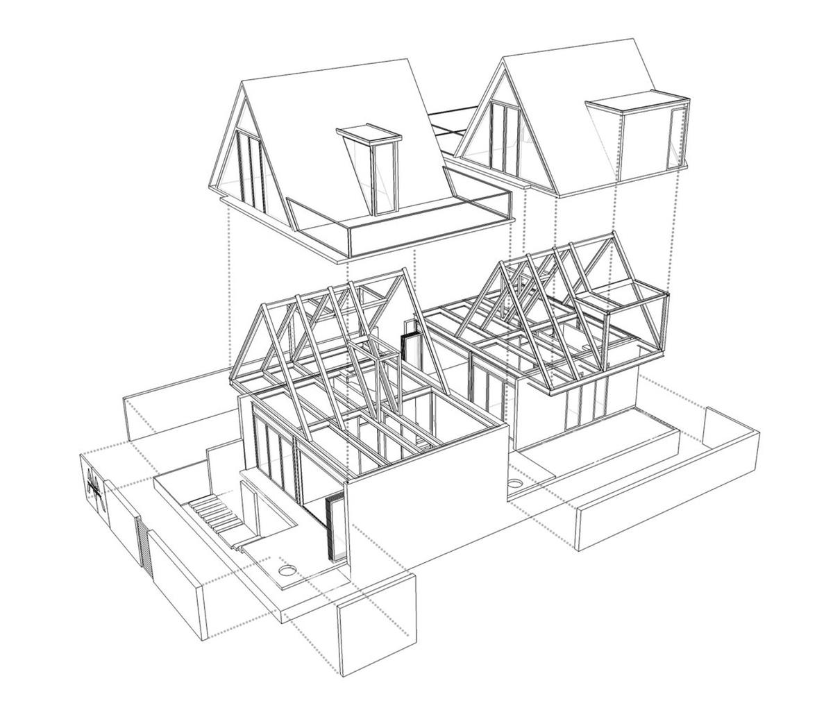 2 ngôi nhà trong lòng biệt thự Đà Nẵng