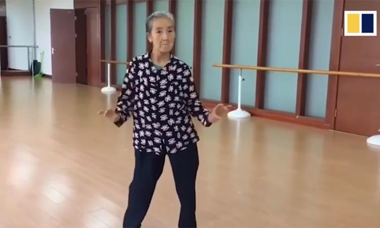 Cụ bà 73 tuổi nhảy sexy - Đời sống