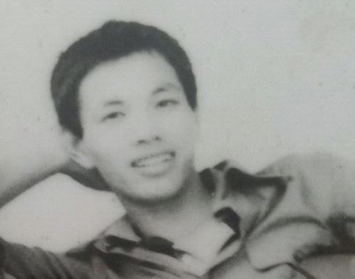 Ảnh chụp ông Nguyễn Toàn Thắng khoảng năm 20 tuổi. Ảnh: Toàn Thắng.