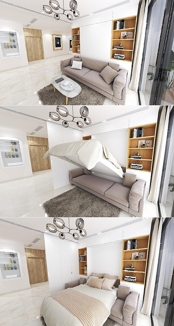 Không gian trong căn hộ The Zei.