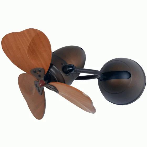 QuạtRoyal Fino Chicđược nhiều gia đình trẻ yêu thích vì vận hành êm ái, tiết kiệm điện năng và tiện dụng khi treo góc tường phòng ngủ. Động cơ xoay chiều một pha, mạ crom, 3 mức tốc độ. Cánh quạt có màu nâu vân gỗ sang trọng, giảm 21 %, còn 7.789.400 đồng (giá gốc 9.860.000 đồng).