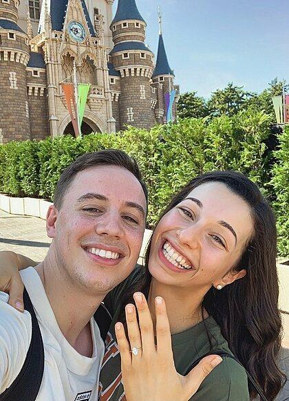 Pedro và Patty mới đính hôn hồi tháng 9. Ảnh: PedroCuz.