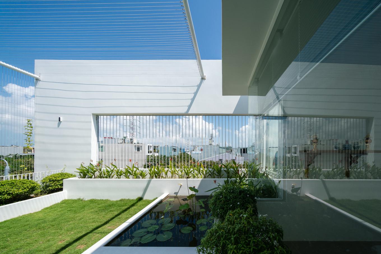 Có 'nhà trong mơ' nhờ để sân vườn chiếm nửa đất