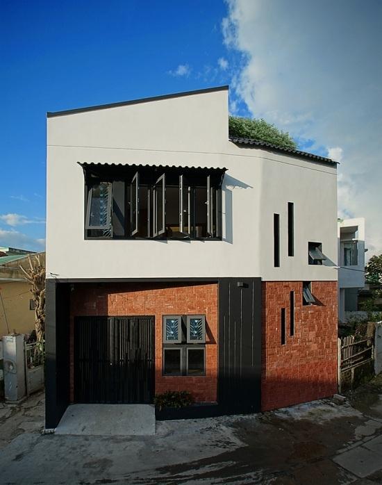 2 680x0 - Ngôi nhà hai tầng trên mảnh đất méo 60 m2 ở Đà Nẵng