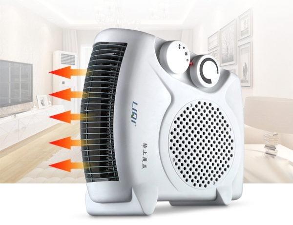 Quạt sưởi ấm hai chiều có cấu tạo độc đáo, có thể dùng làm quạt mát, quạt sưởi quanh năm. Sản phẩm đi kèm nhiều mức điều chỉnh, hai kiểu chân đế, phù hợp với điều kiện sử dụng của gia đình. Quạt sưởicó kiểu dáng hiện đại, công suất tỏa nhiệtlớn, lên tới 2000 W. Hiệu quả làm nóngnhanh và chủ động. Sản phẩm có giá 285.000 đồng, ưu đãi 50% trên Shop VnExpress.