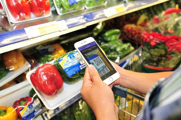 Bạn có thể nắm được thông tin về nguồn gốc của thực phẩm chỉ mất vài giây quét mã QR. Xin nguồn gốc.