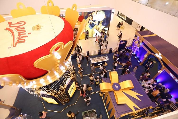 Lễ hội Quà tặng Hoàng gia từ Danisa diễn ra từ nay đến hết 19/1 tại Crescent Mall, quận 7 (TP HCM).