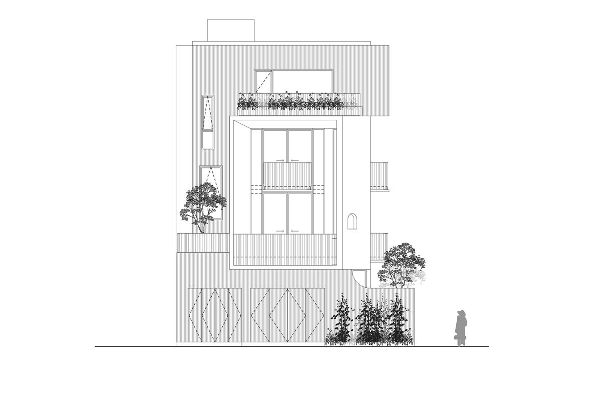 T HOUSE WED page 006 2 680x0 - Ngôi nhà không thấy cửa ra vào