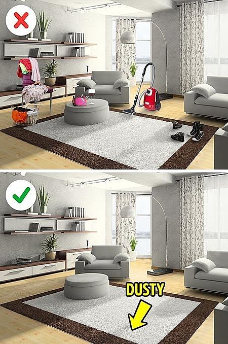 5 bí mật đơn giản của ngôi nhà sạch