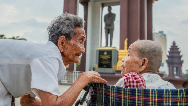 Cụ bà 98 tuổi đoàn tụ chị gái sau 47 năm xa cách - ảnh 2