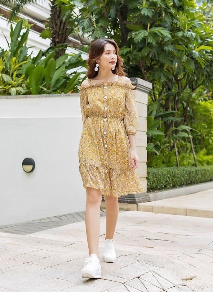 Váy đầm tôn dáng cho nàng công sở - ảnh 5