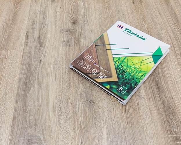 Điểm cộng của sàn gỗ công nghiệp - ảnh 1