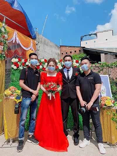 Những đám cưới thấp thỏm vì Covid-19 - ảnh 2