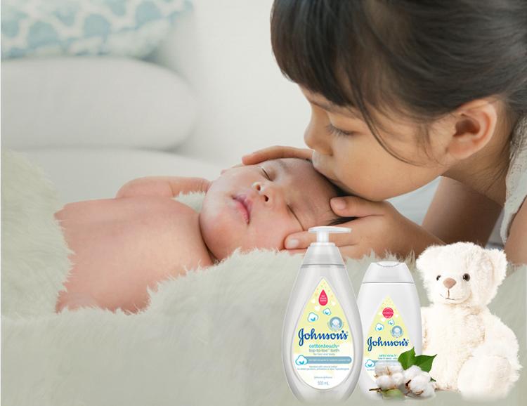 Sử dụng trọn bộ sữa tắm và Lotion để bảo vệ tối ưu làn da nhạy cảm của bé.
