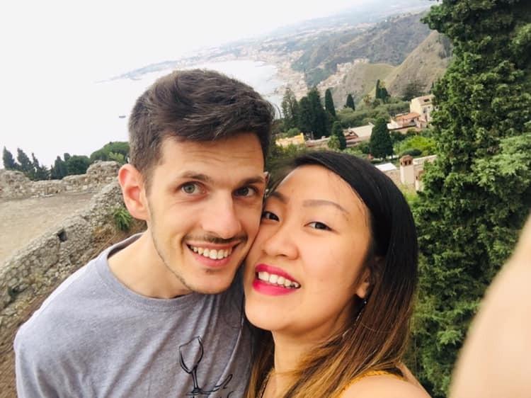 Huyền Hồ kết hôn với chồng người Italy, định cư ở Rome từ tháng 9/2019. Ảnh: Nhân vật cung cấp.