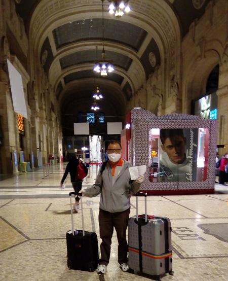Chồng Việt ngược bão Covid-19 sang Italy với vợ - ảnh 2