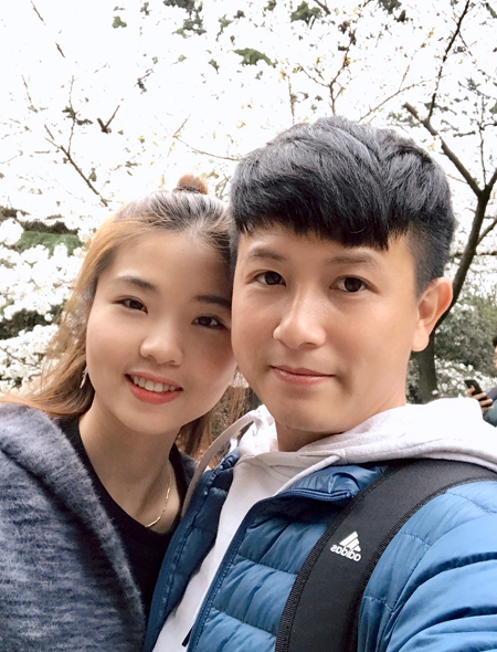 Cặp vợ chồng thoát khỏi Vũ Hán trước ngày sinh con - ảnh 2