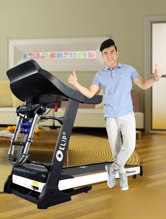 Chạy bộ thường xuyên trên máyđa năng Elip Tabata tốt chohệ tim mạch và huyết áp.