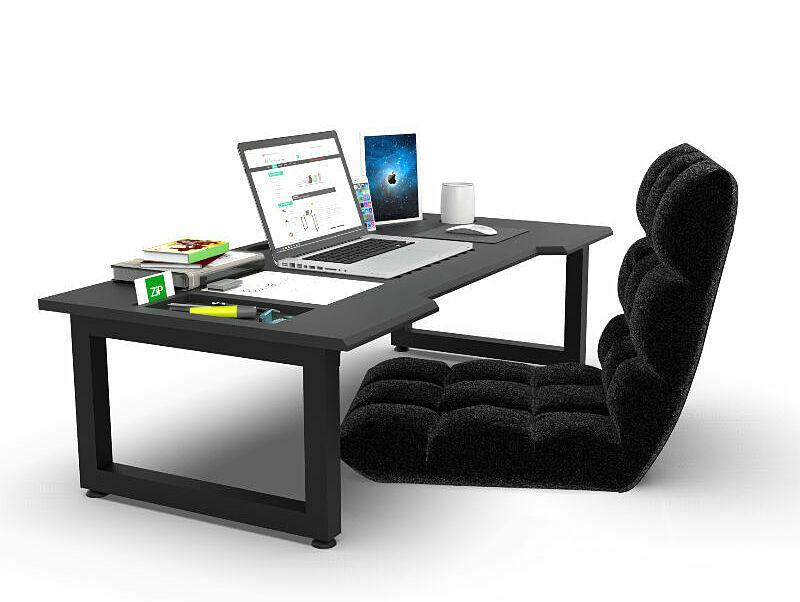 Sự kết hợp giữa bàn công nghệ Techdesk và ghế Tatamimang đến cho bạn trải nghiệm mới về góc làm việc của mình. Bàn dài1,2 m, rộng60 cm, cao35 cm,với mặt bàn được làmbằng gỗ tự nhiên đã qua xử lý chống cong vênh, chống mối mọt, sơn PU chống thấm và phủ 2K chống trầy.Mặt bàn tích hợp nhiều chức năng,có thể để đồng thời laptop, dụng cụ học tập, các thiết bị công nghệ (điện thoại, tablet...)ngăn nắp. Chân bàn bằng sắt, có đế nhựa giúp bảo vệ mặt sàn, có thể gấp lạiđể xếp gọnkhi không sử dụng. Ghế Tatami bọc đệm giúp bạn ngồi thoải mái, giảm đau lưngtrong quá trình làm việc. Bộ sản phẩm của Nội thất Gọn, giá 2,7 triệu đồng,đang được giảm 4% còn 2,6 triệu đồng.
