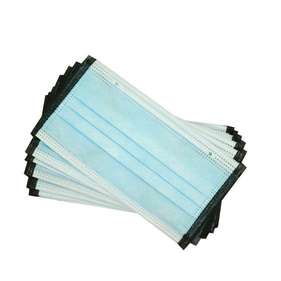 Hộp 20 chiếc khẩu trang 2D Niva 3 lớp kháng khuẩn, chống bụi, bảo vệ sức khỏe