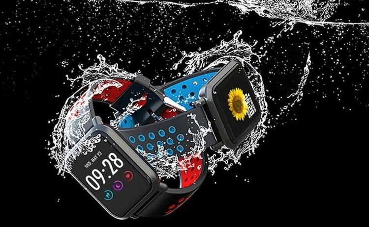 Ngoài ra dây đeo của Colmi S9 Plus cũng được thiết kế với nhiều lựa chọn màu sắc cho bạn: Đỏ, xanh dương, xanh lá, đen.