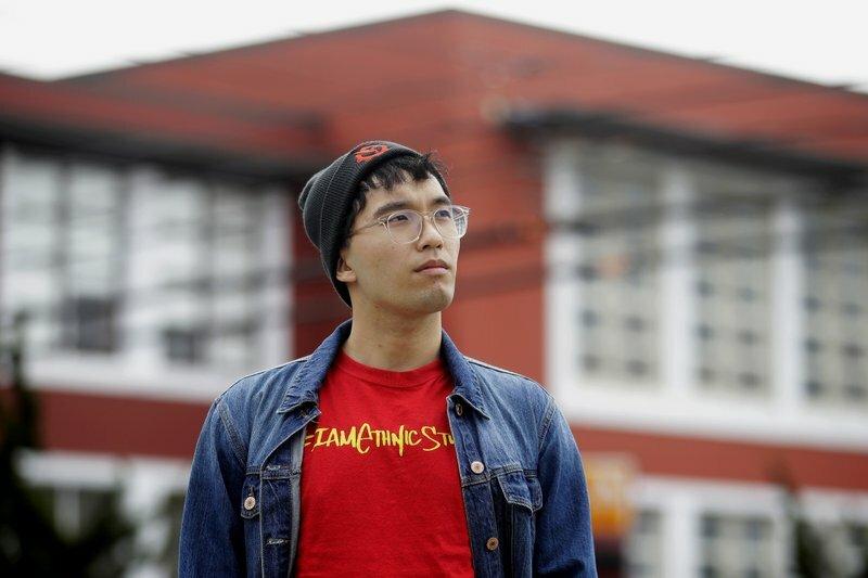 Kyle Navarro - sinh viên y khoa người Mỹ gốc Philippines. Ảnh: AP.