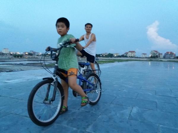 Đạp xe vui khỏe gắn kết cả nhà